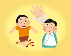 交通事故による怪我